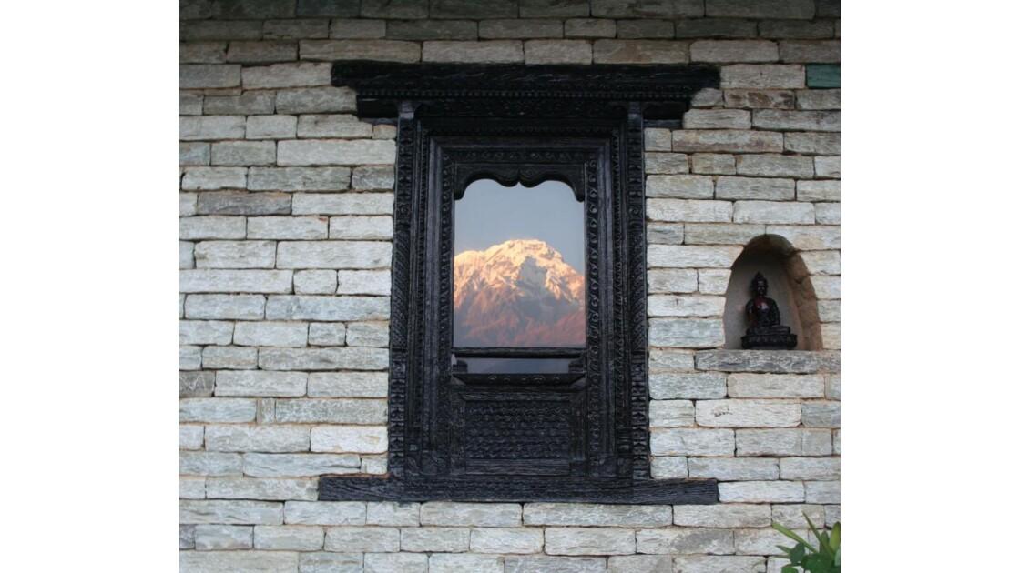 Fenetre sur les Annapurna