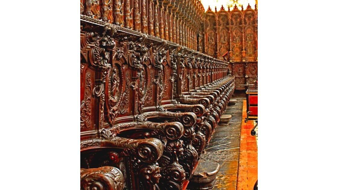 Stalles du choeur de la cathédrale