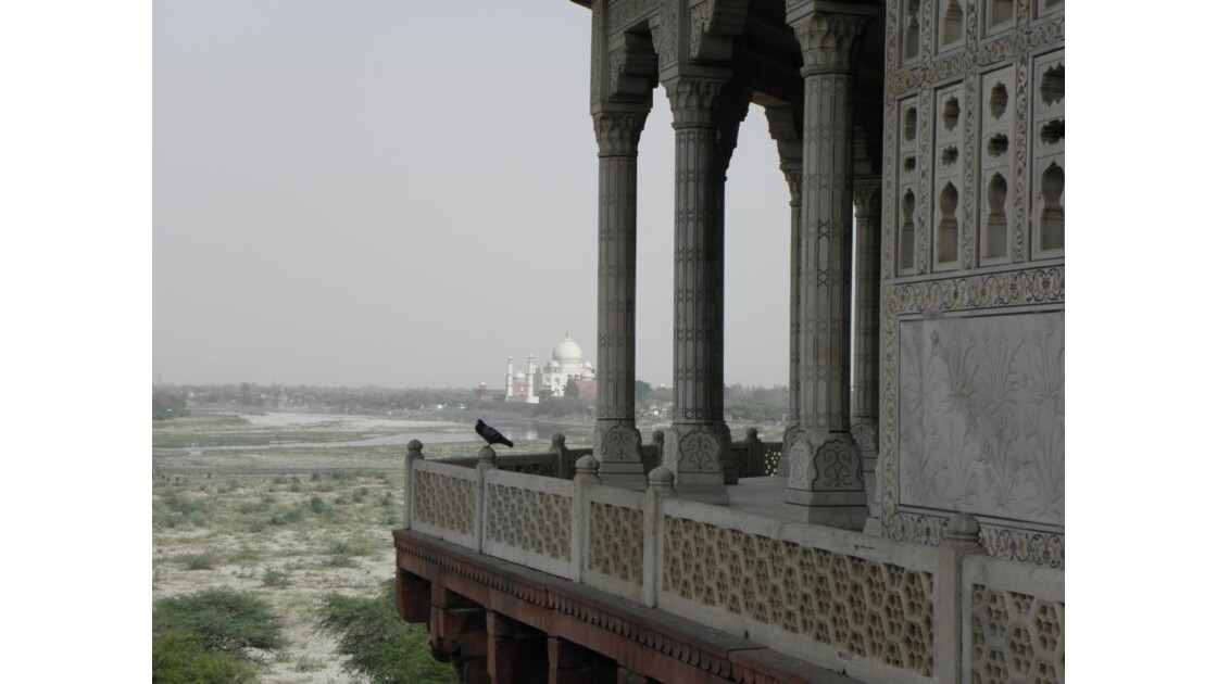 Agra - fort rouge