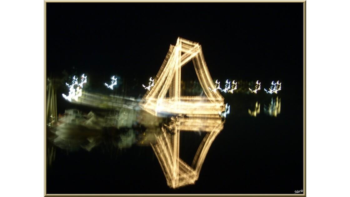 Illuminations Noël  au Port de Larros