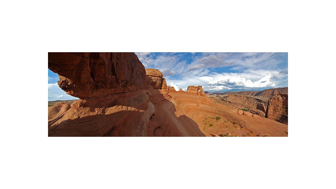 Panoramic @ Delicate Arch