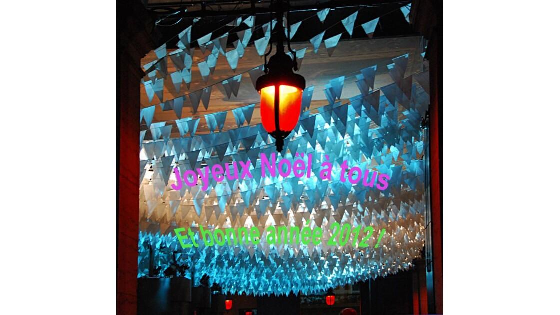 Joyeux Noël et bonne année 2012