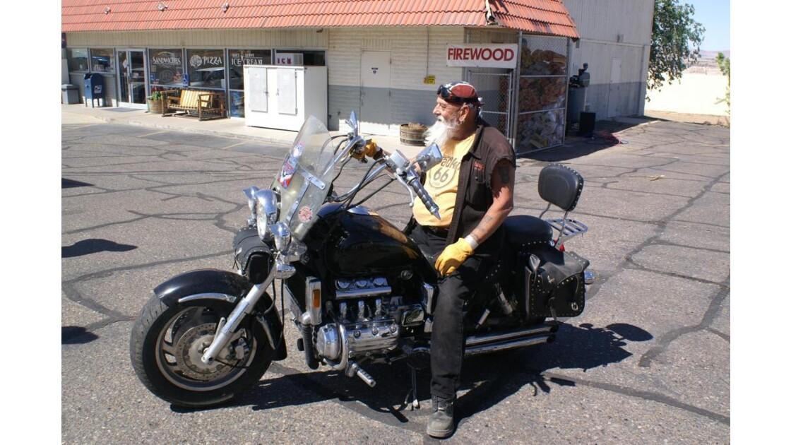 Biker en Arizona