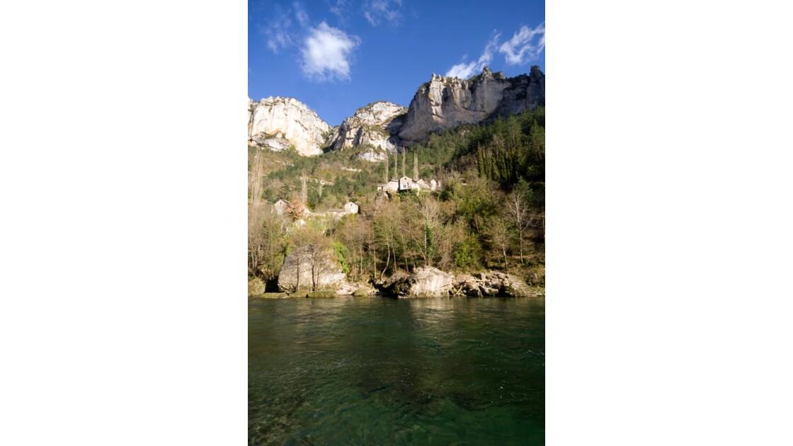 Village, la Sablière Gorges du Tarn