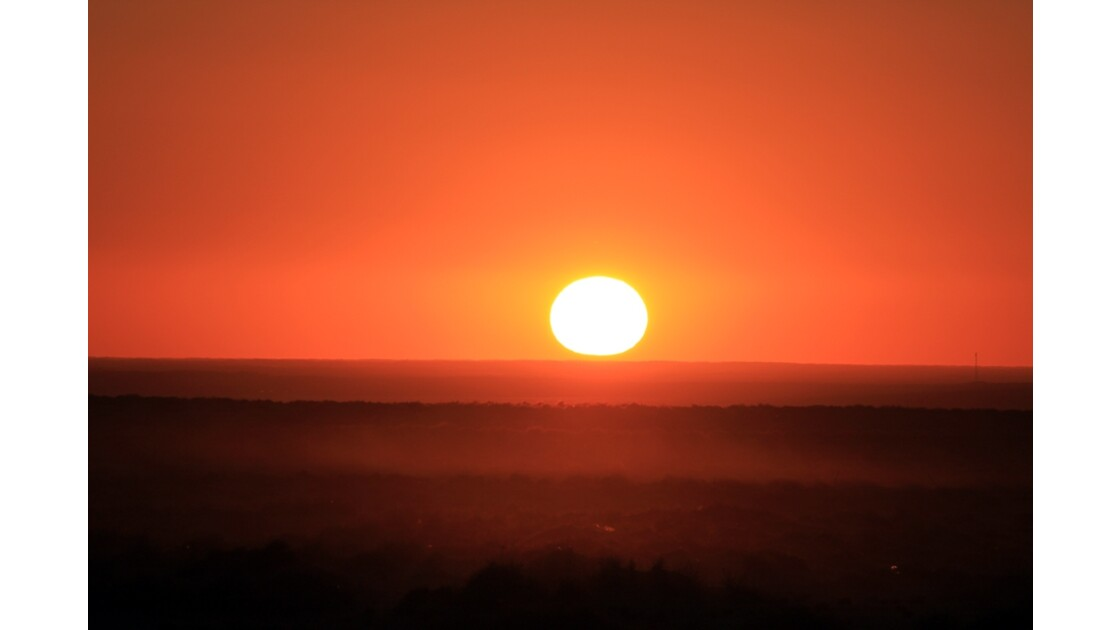 Soleil couchant   (a)