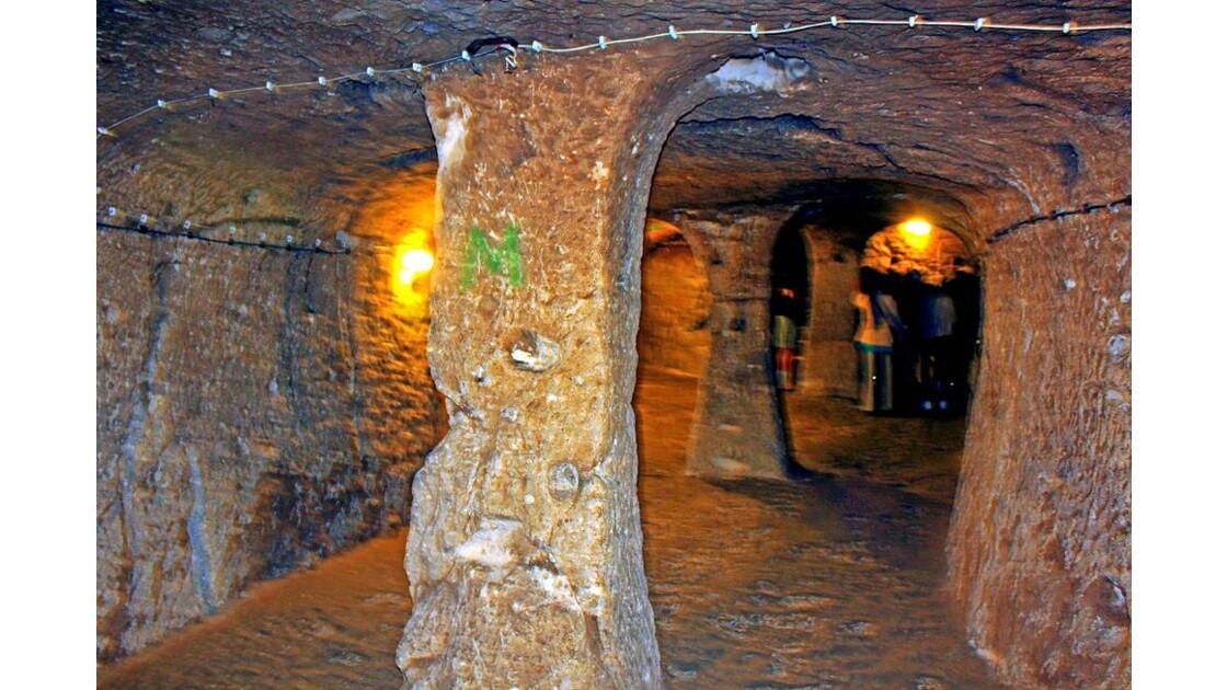 5 Derinkuyu _ville souterraine
