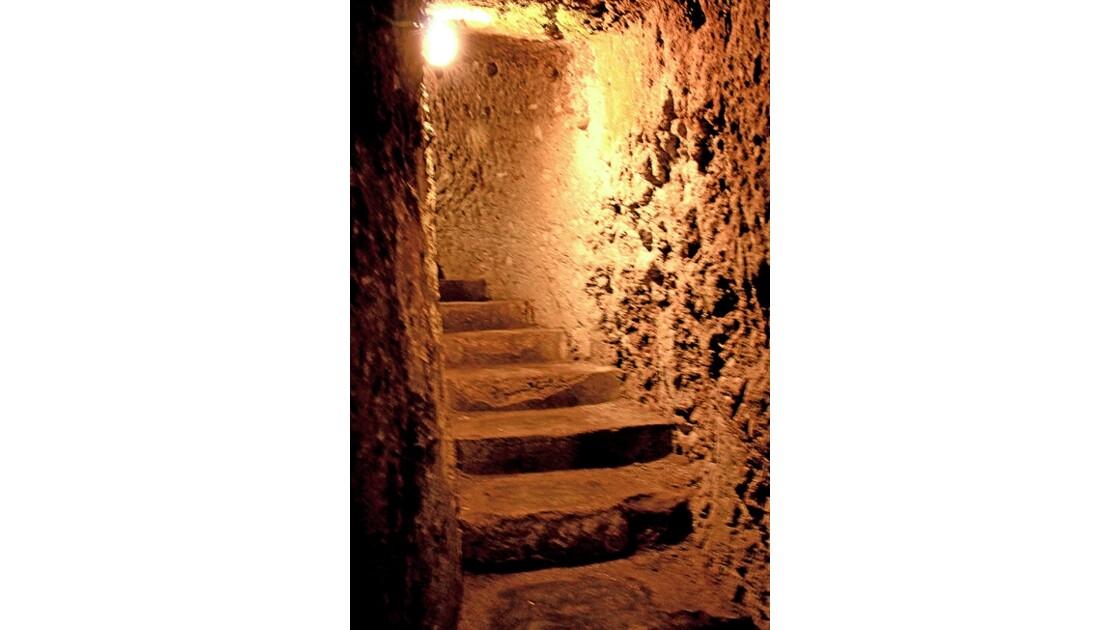 7 Derinkuyu  ville souterraine