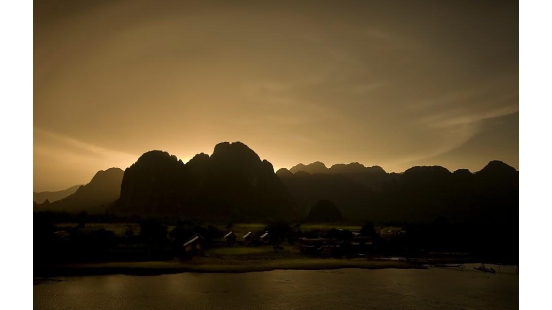 l'or de Vang Vieng