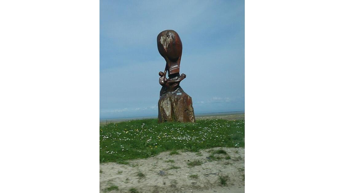 Monument aux huitre de Bouchots