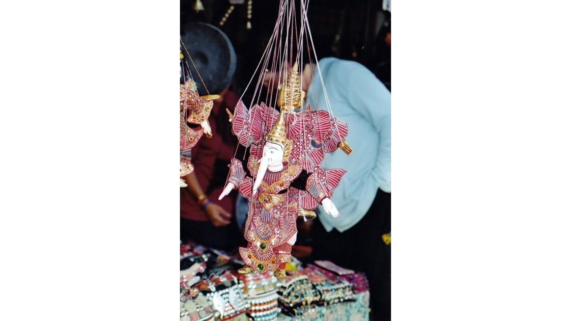 marionnette du théâtre thaï