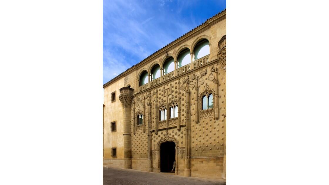 une façade du Palacio de Jabalquinto