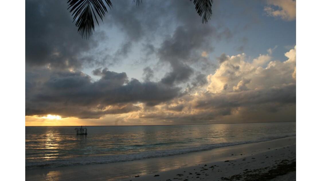 Aurore à Zanzibar