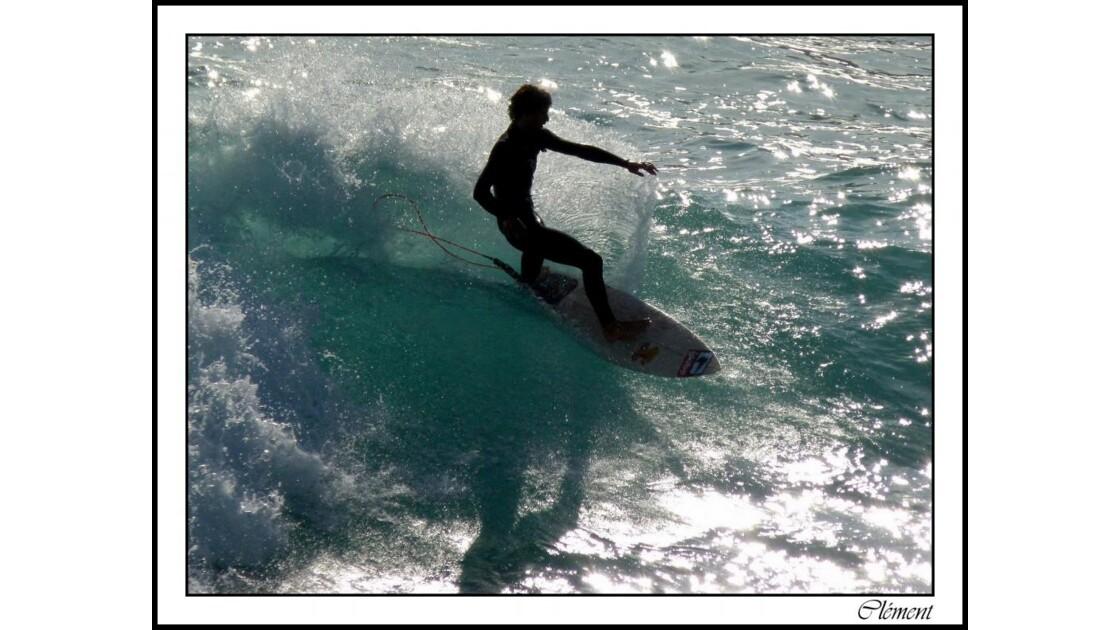 le surfer...