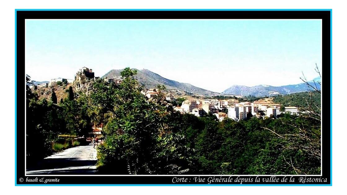 Vue Générale - Vallée de la Réstonica
