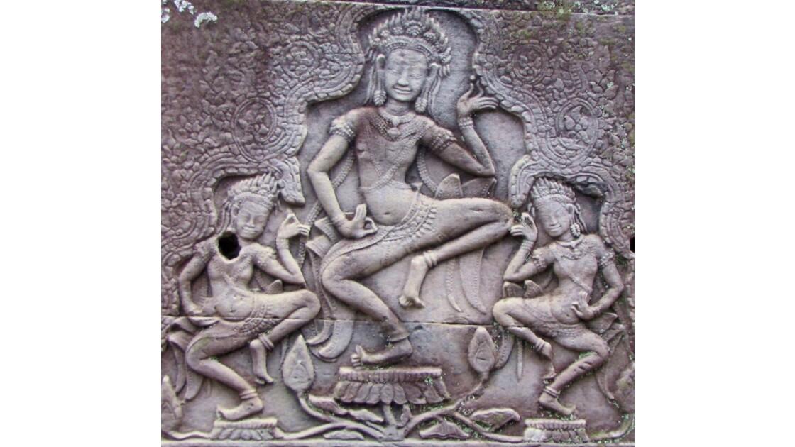 La danse des Apsaras. Angkor Vat.