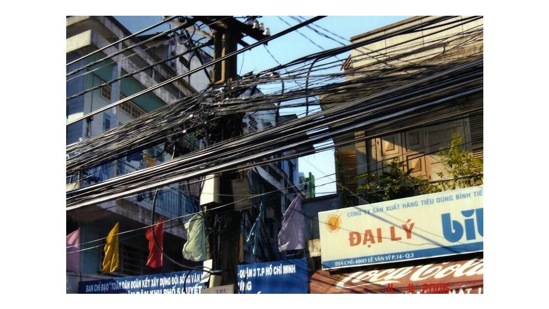 le reseau electrique vietnamien