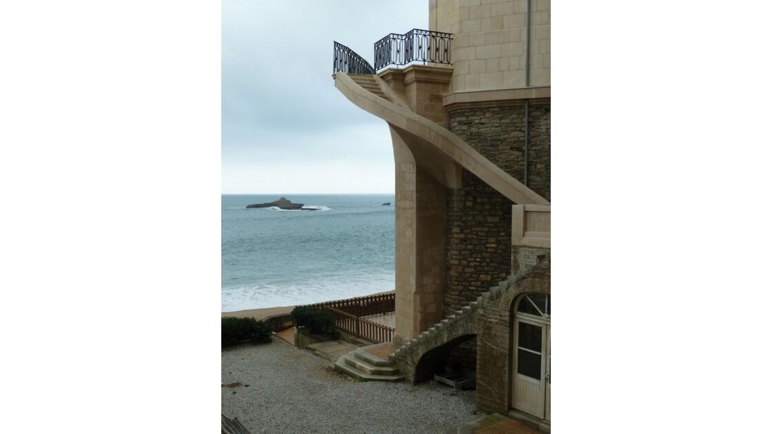 Escaliers anti-fiesta !