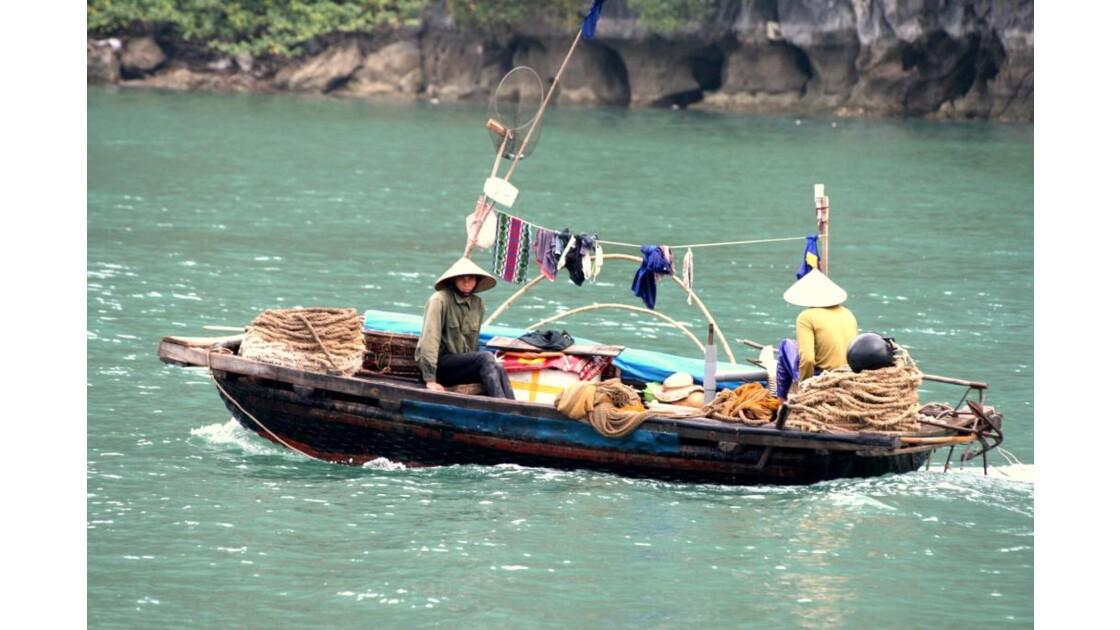 Pêcheurs d'Halong