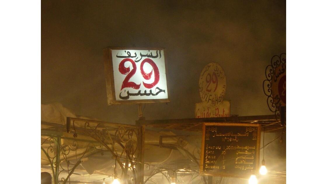 n°29 ... place Jemaa El Fna