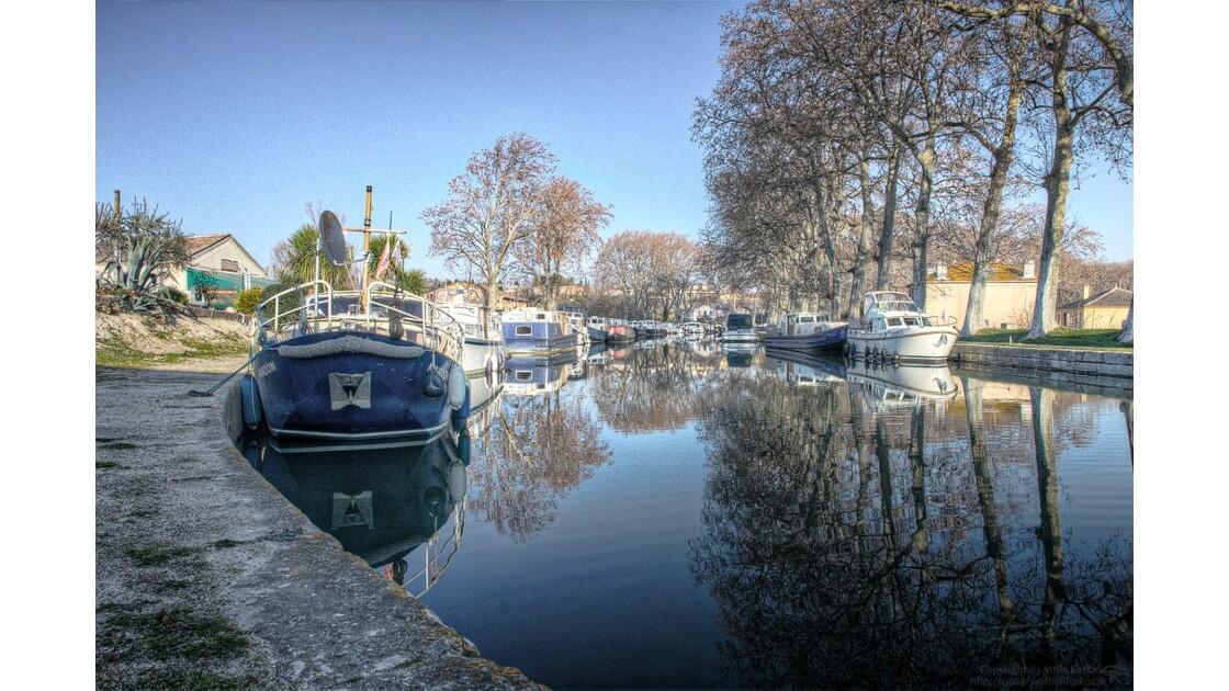 Canal du Midi - Port Capestang 1