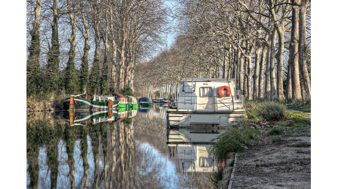 Canal du Midi - Port Capestang 4