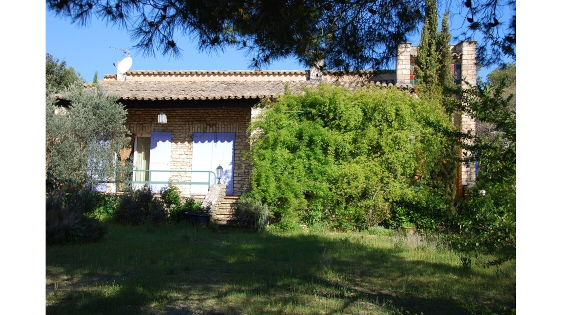 ma maison en Luberon