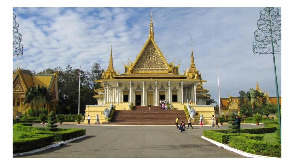 Phnom Penh. Palais Royal
