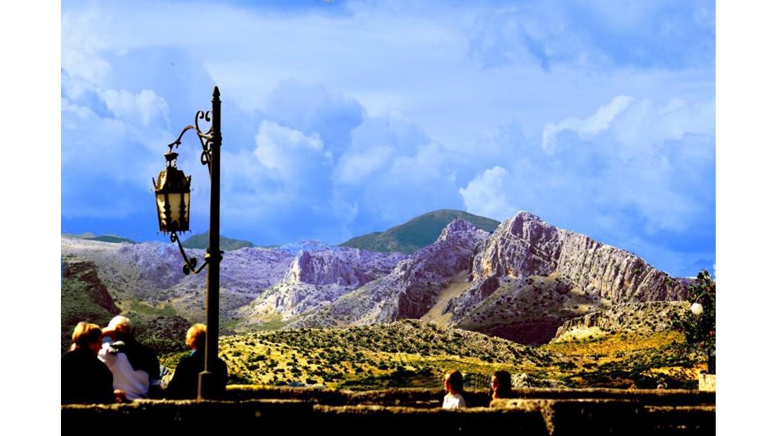 paysage de Sierra