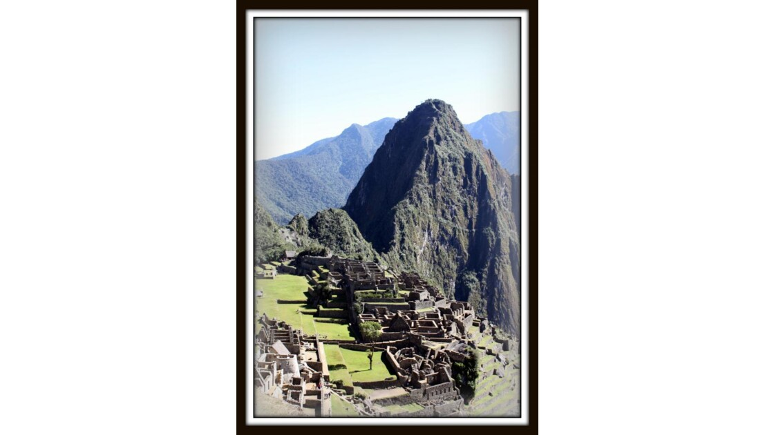 Le Macchu Picchu : LA MERVEILLE !