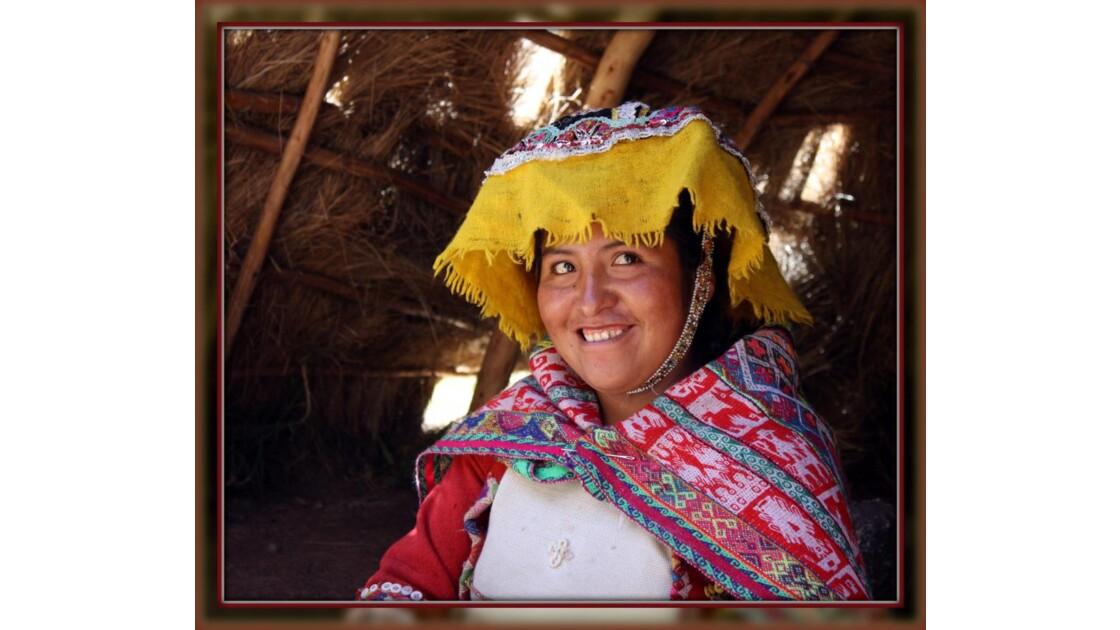 sourire péruvien
