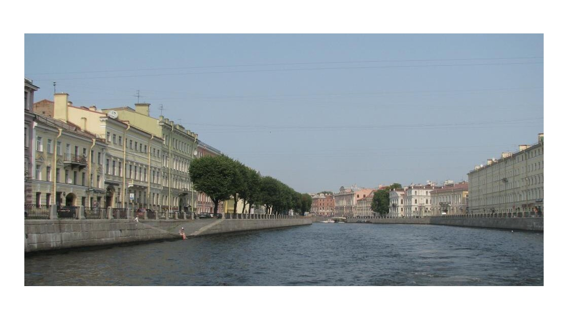 St Petersbourg: La Fontanka