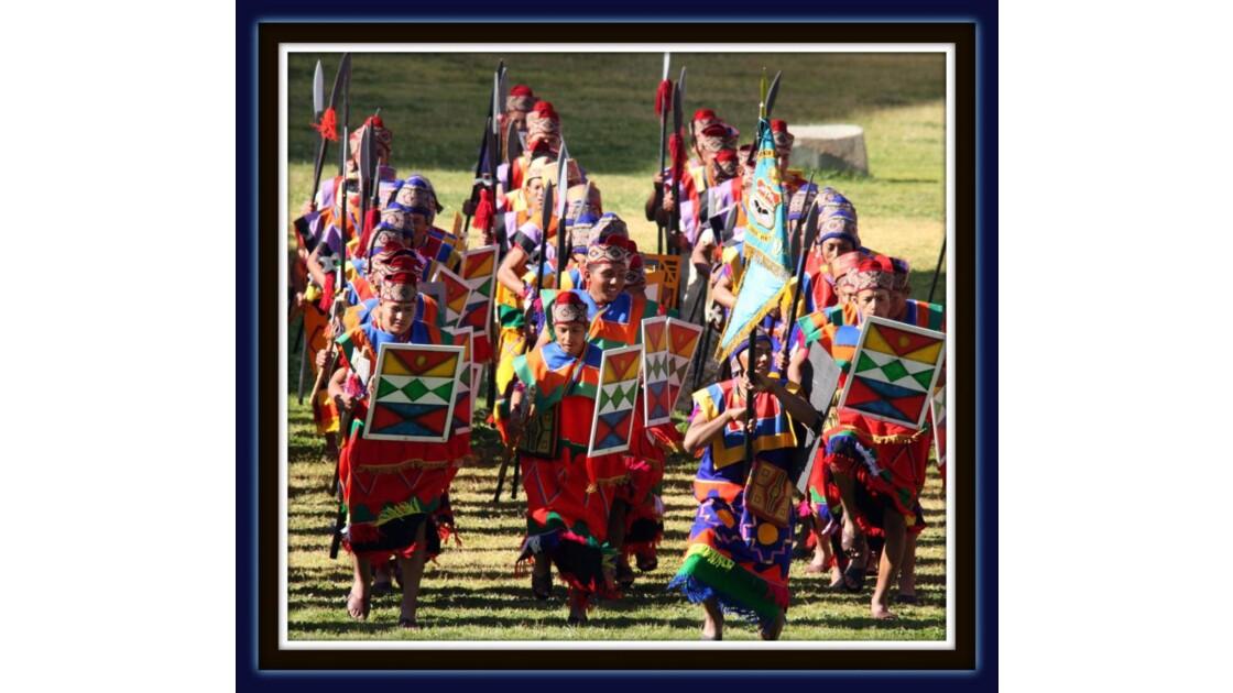 soldats incas