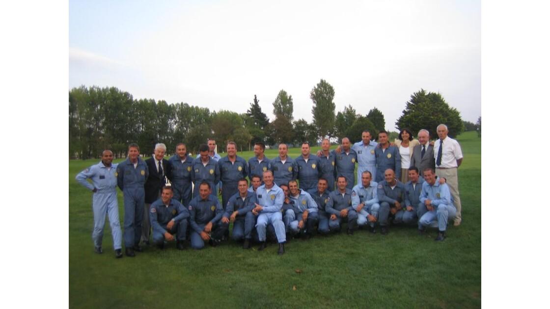 Equipe complete de la patrouille France