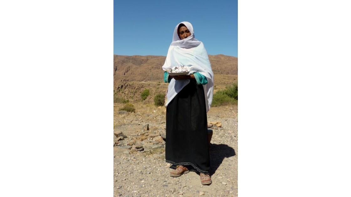 Une jeune femme berbère
