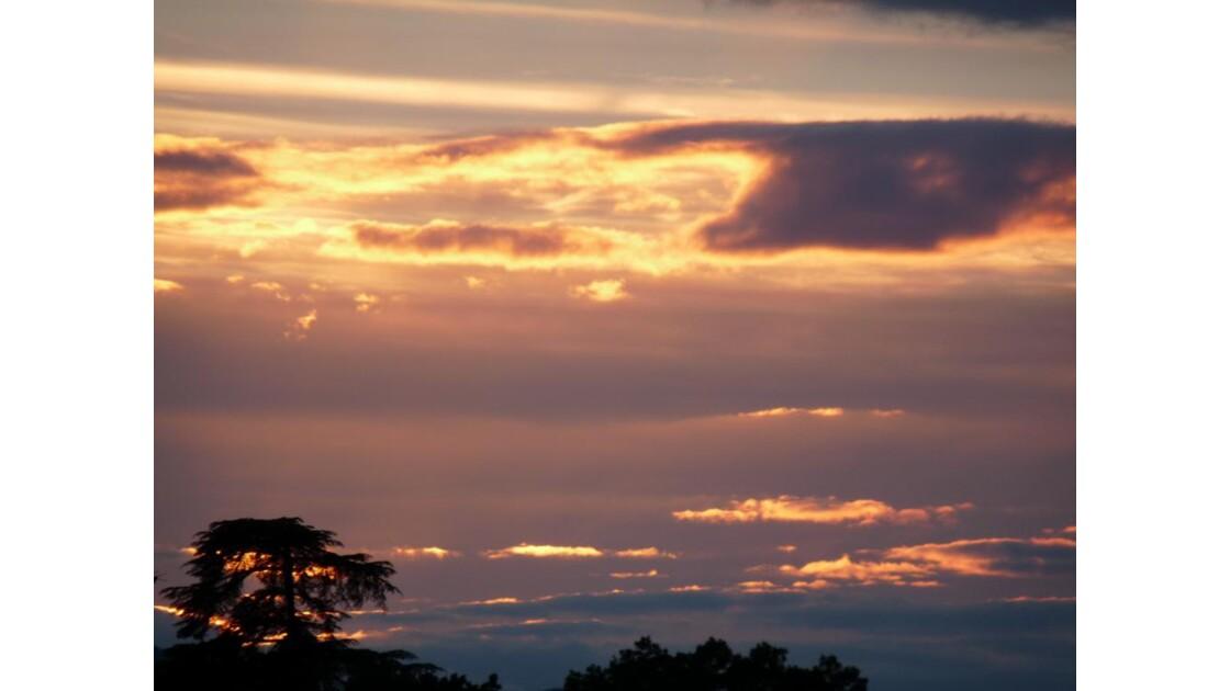 coucher de soleil (Isère)