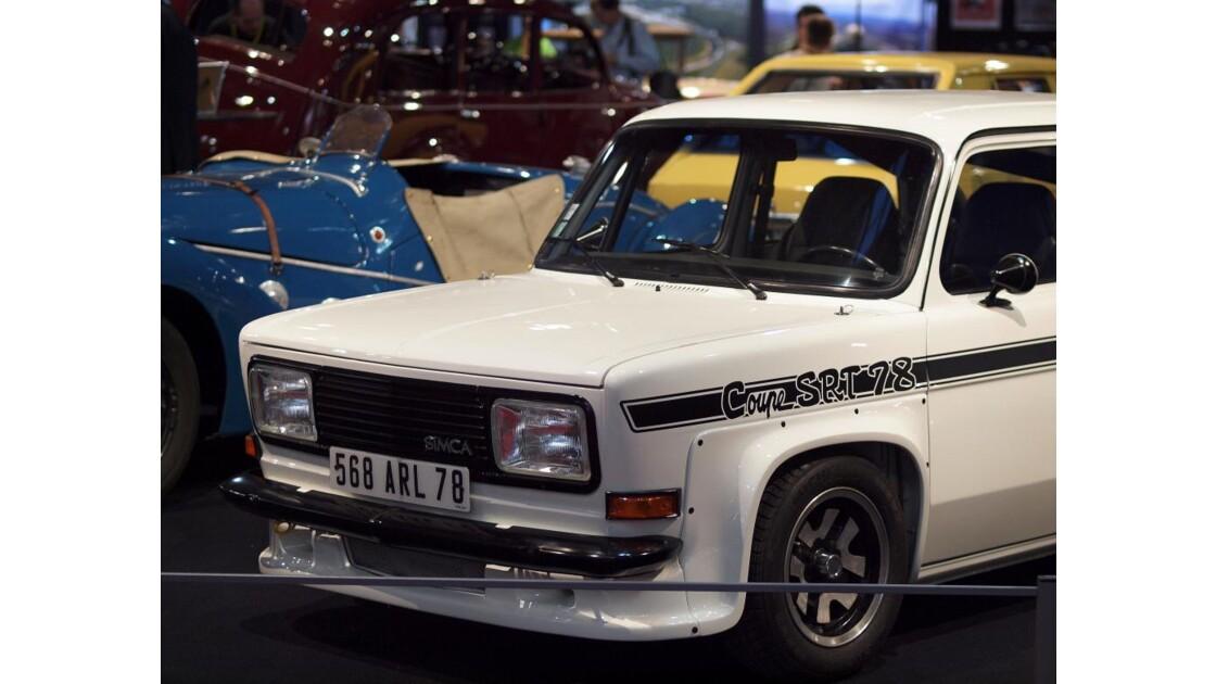 Rétromobile 2012 : Simca 1000 Rallye 3