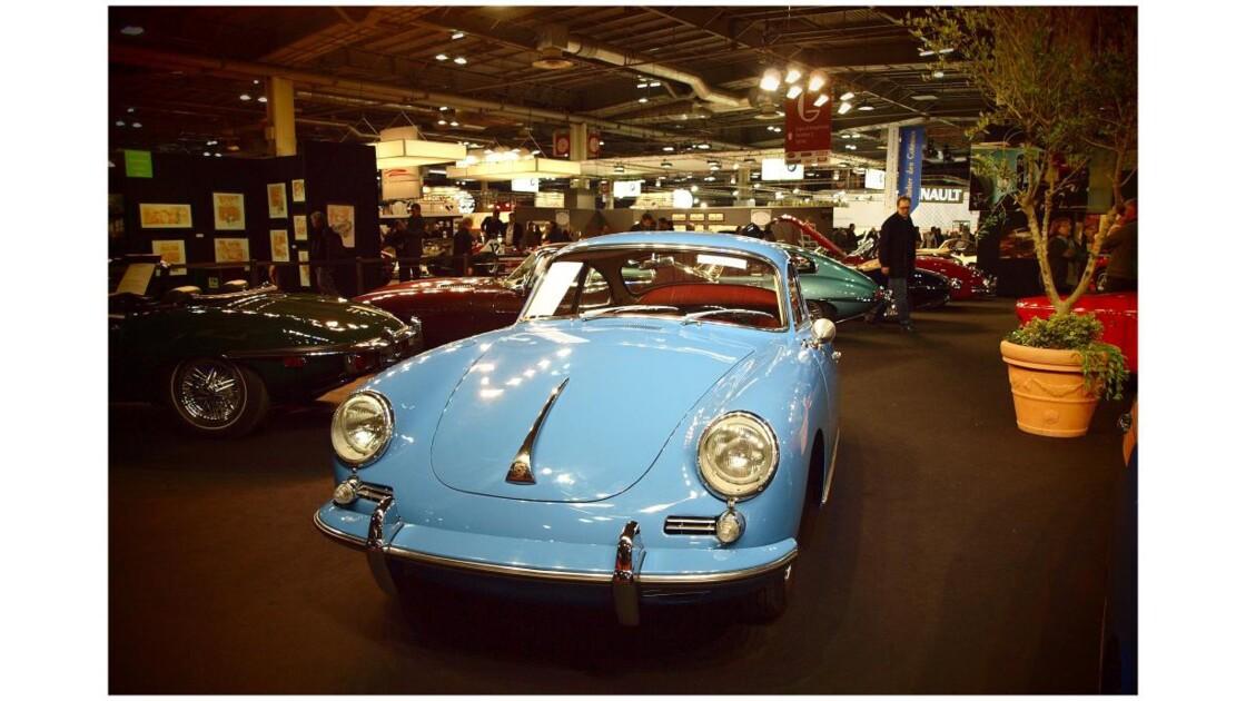 Rétromobile 2012 : c une Porsche...