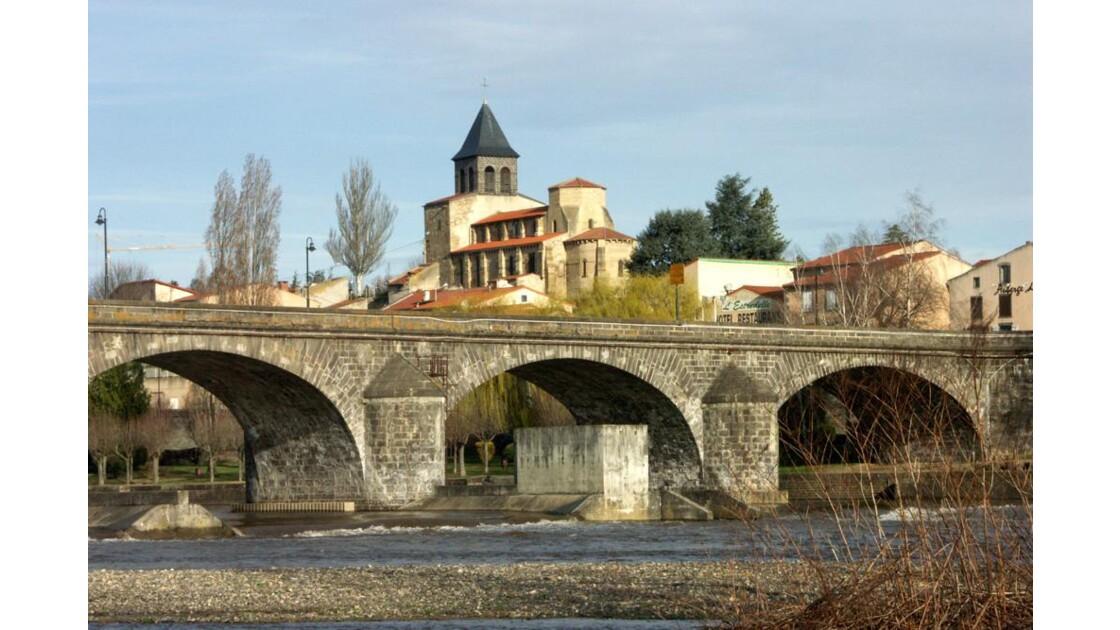 Pont et l'église Pont du Château