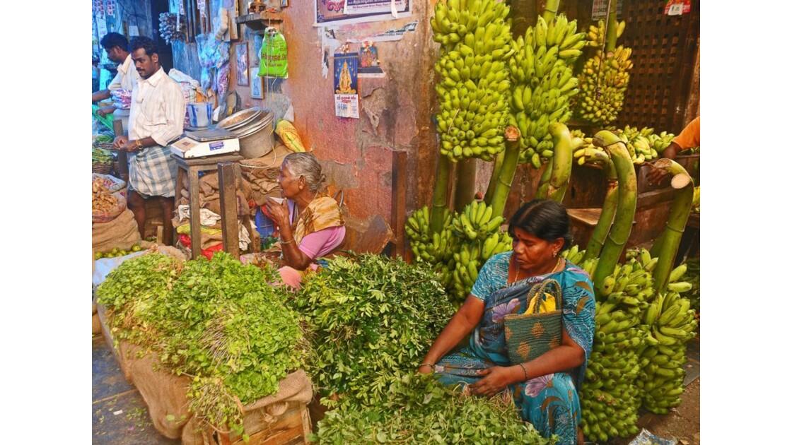 Le marché à Pondichéry (1)