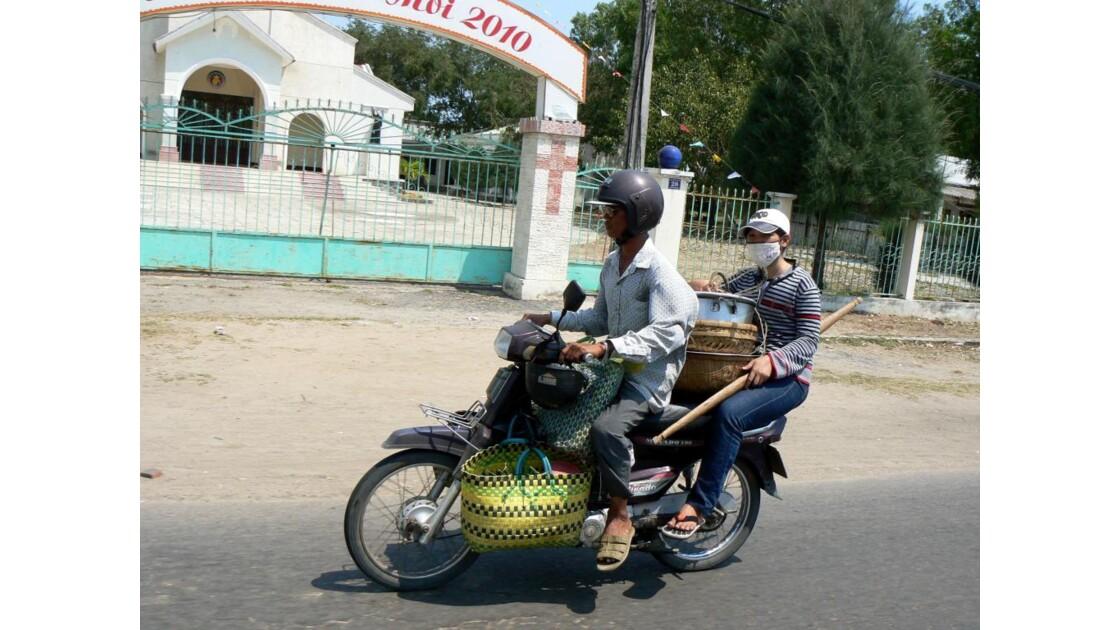 Retour du marché - Viet Nam