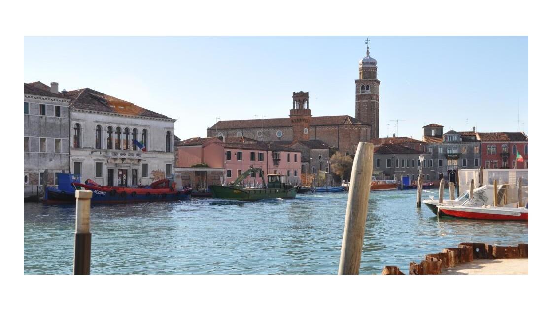 Murano, l'activité verrière...