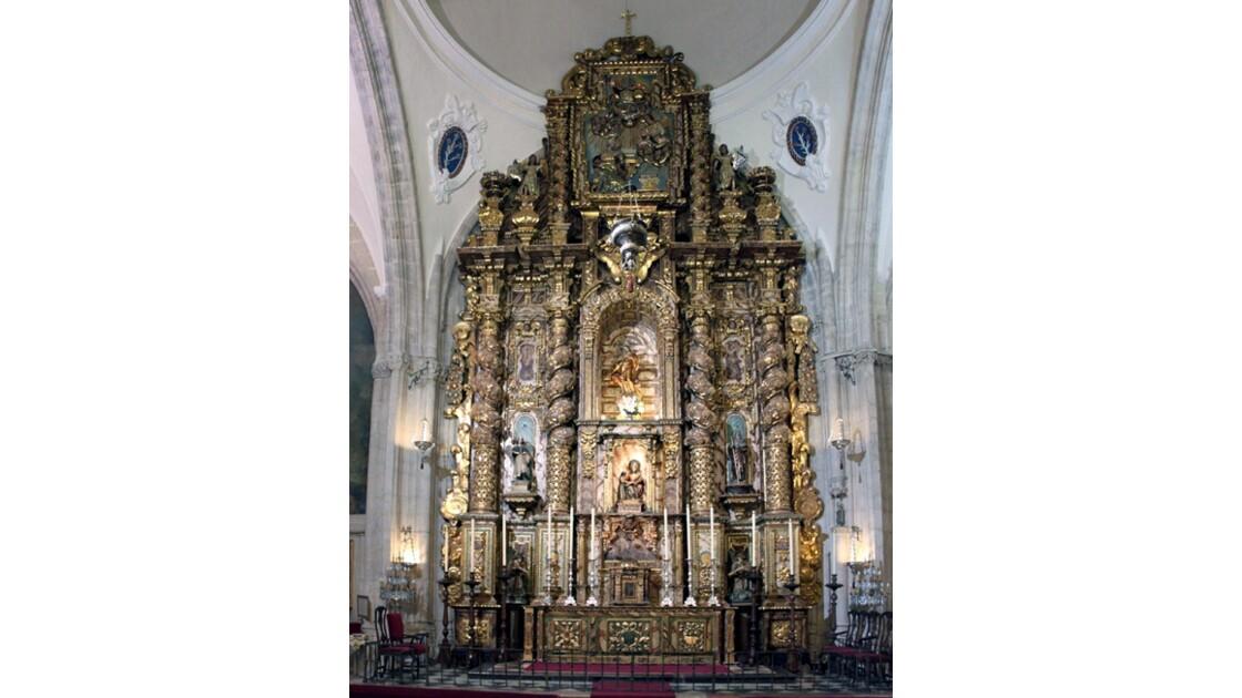 le rétable de Santa Maria Major