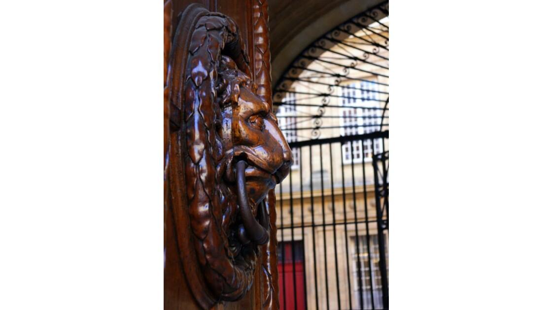 Le Lion de l'Hôtel de Ville