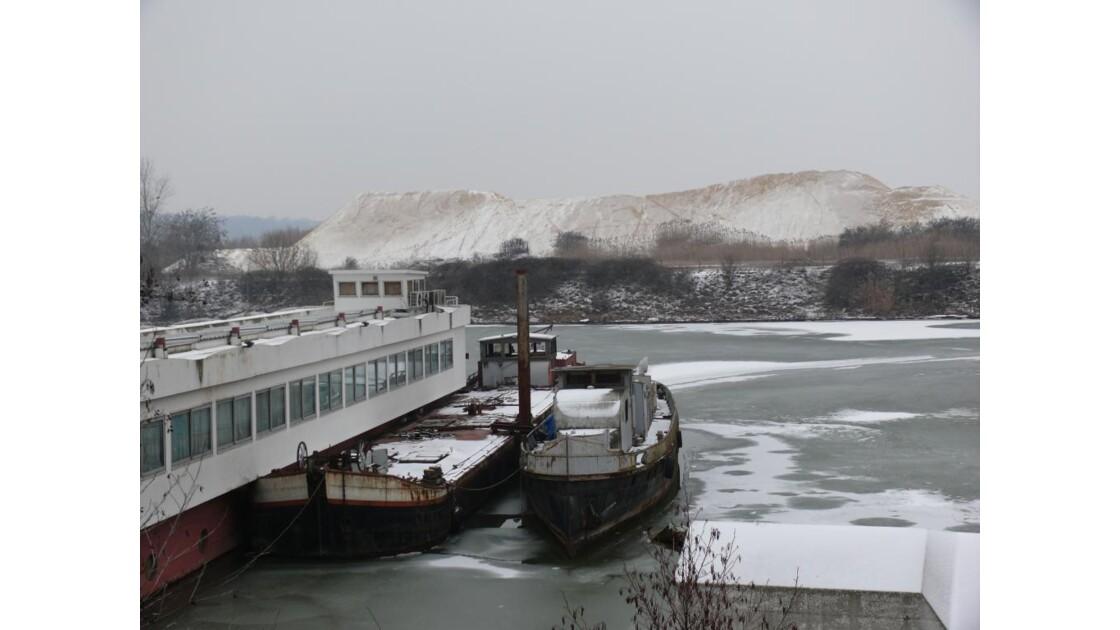glace neige et sable