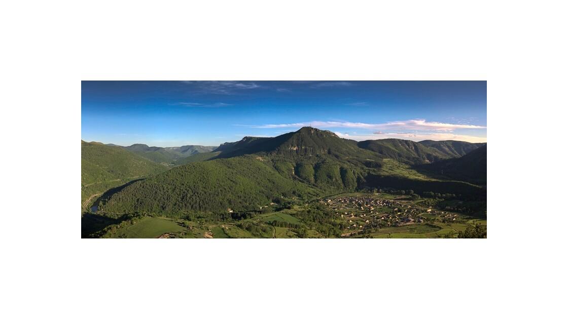 Panorama Vallon d'Ispanac
