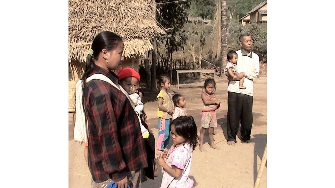 les habitants du village