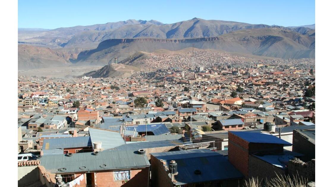 Potosi, 4090 m d'alt , 145000 habitants