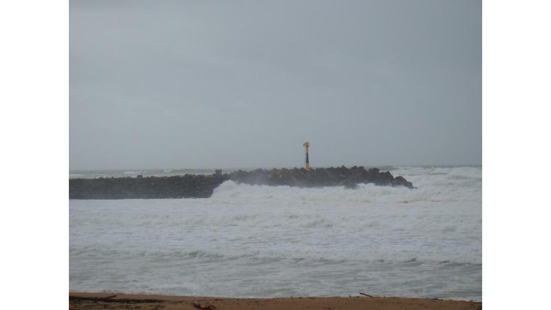 Anglet : plage de la Barre