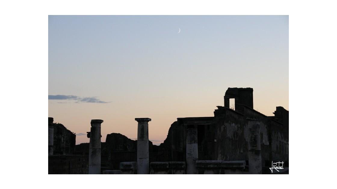 Le soir à Pompéi...