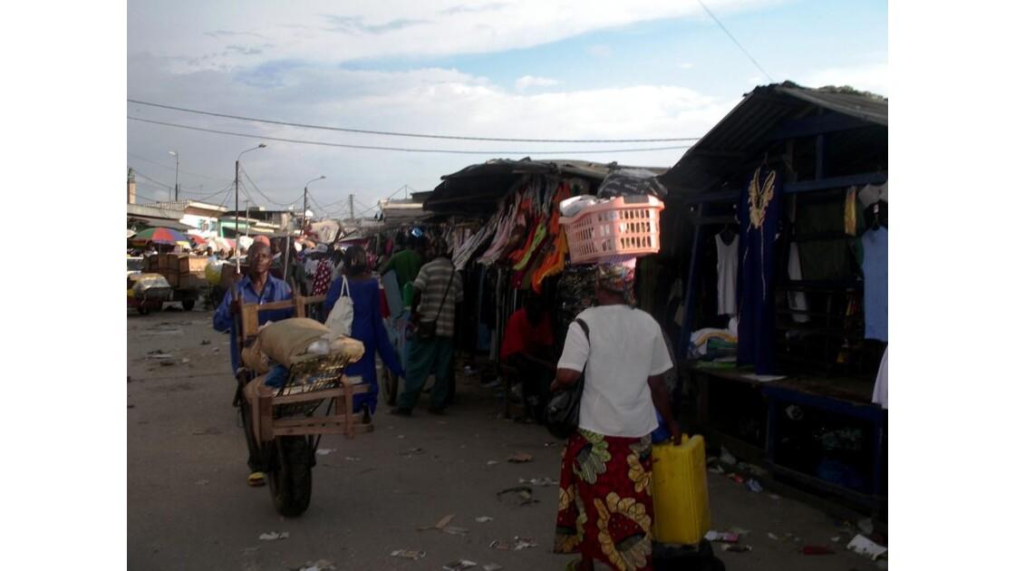 En ville : le marché